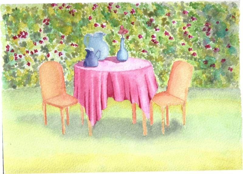 Beautiful Dessiner Une Table De Jardin Images - Ridgewayng.com ...