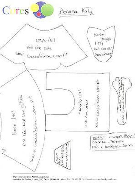 Moldes y patrones fofuchas sevillanas - Imagui