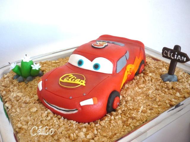 Gateau anniversaire cars carrefour