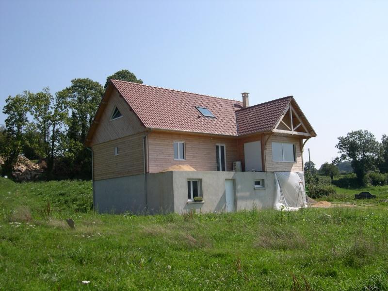 Notre maison bois, St Agnant De Versillat (Creuse)