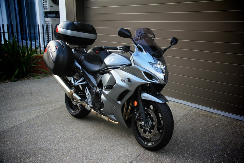 2010 gsx1250fa for sale with only 3700kms