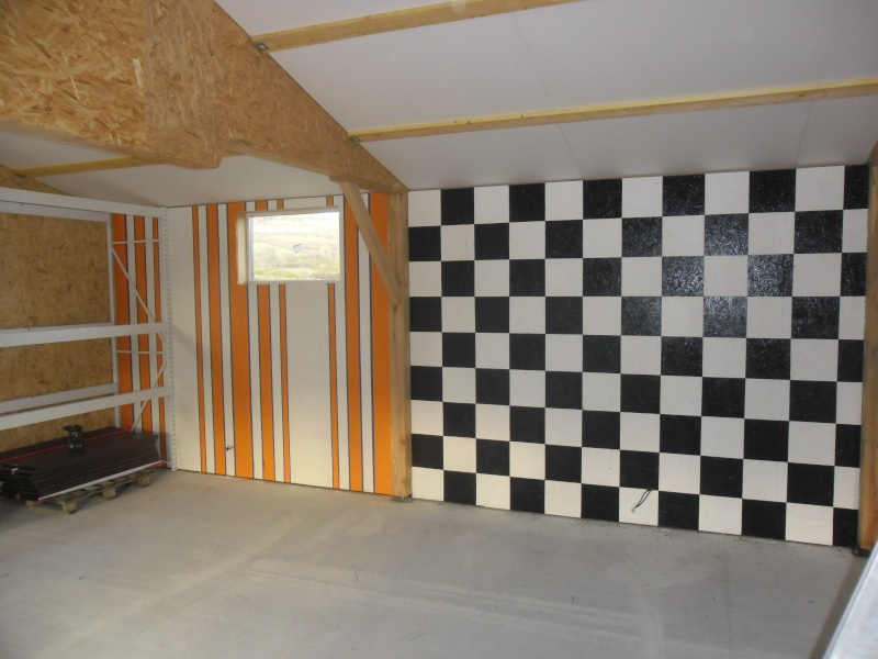 D co mur garage for Peinture pour garage mur