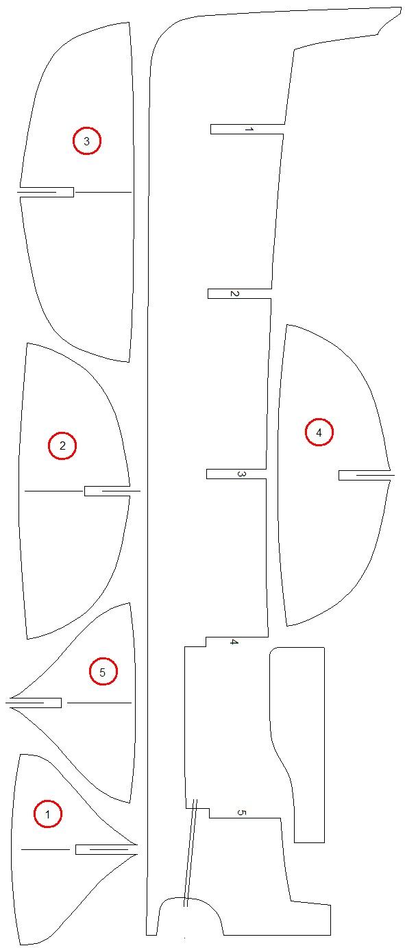Aiuto per la costruzione di un gozzo da piani pippolino for Proiettato in piani porticato gratis