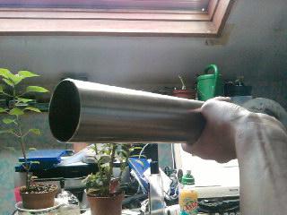 Fabriquer soi m me un pot d 39 chappement pour un mono for Garage soudure pot echappement