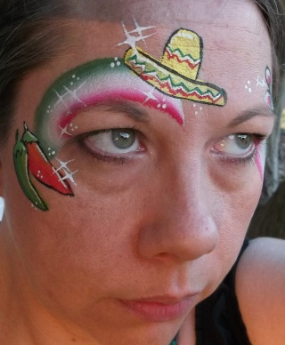 Mexican face painting ideas