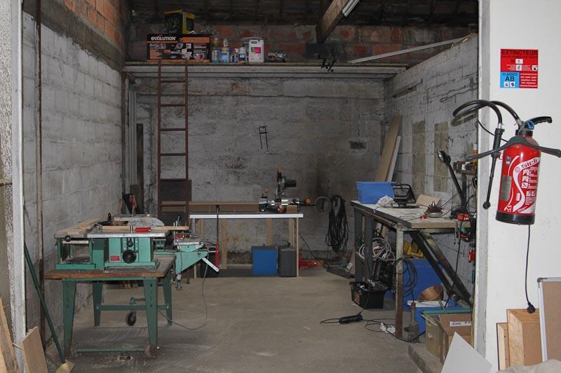 Mon atelier a am nager willo35 - Amenager un garage en atelier ...