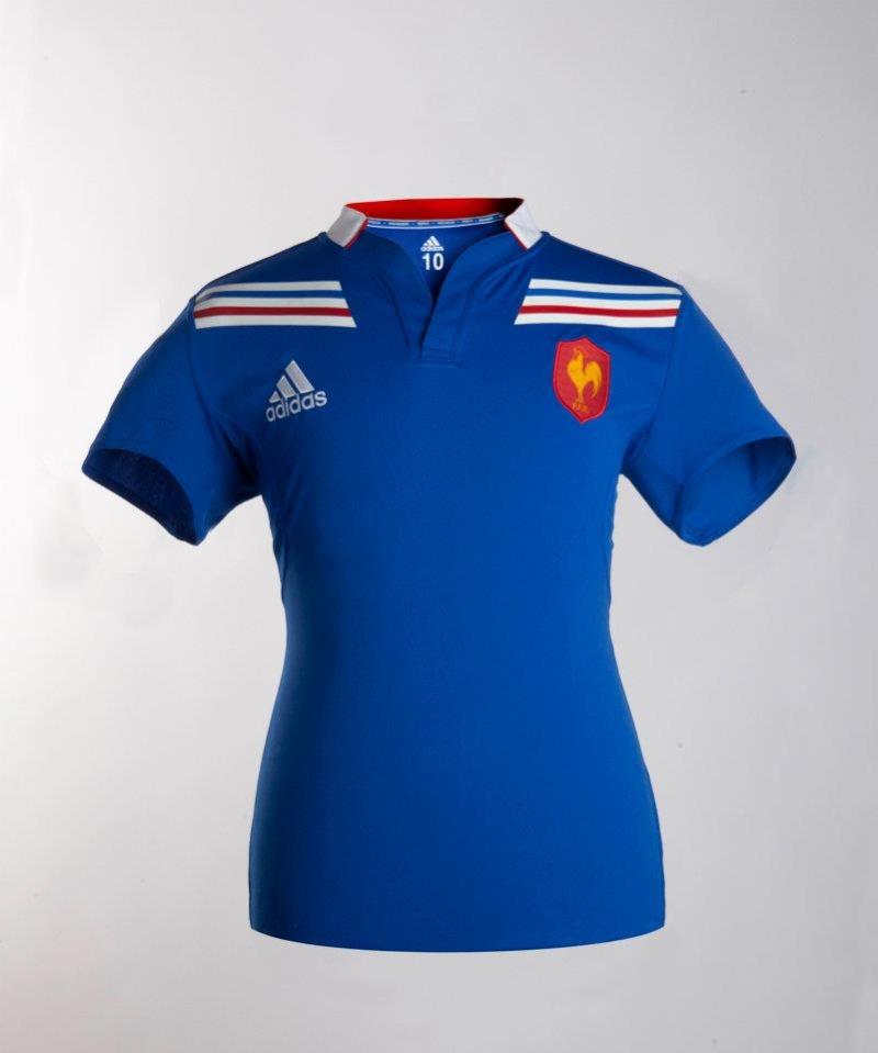 best service dd399 0c328 France Rugby 2016/17 Adidas Home Shirt – Rugby Shirt Watch