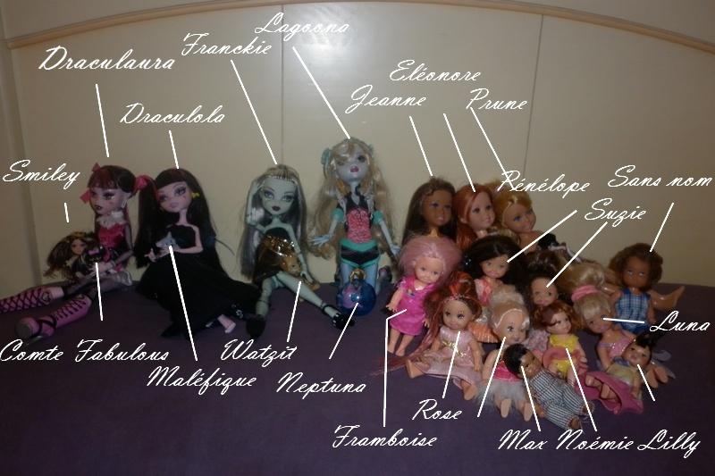 Mes petites princesses monster high nouvelle photo page - Toutes les monster high ...