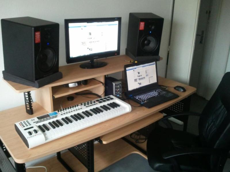 Bureau pour studio d enregistrement classy studio denregistrement