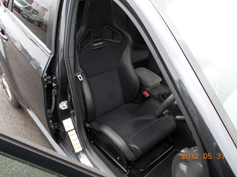 recaro sportster cs fitted at last. Black Bedroom Furniture Sets. Home Design Ideas