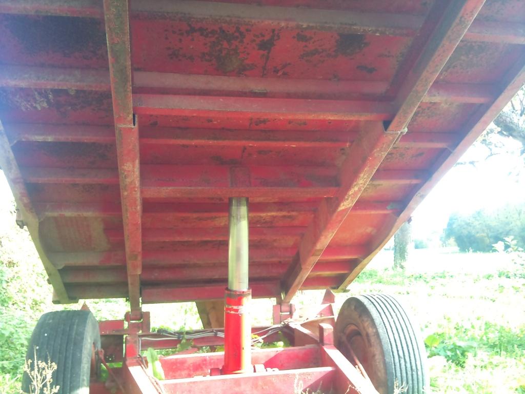 Verin hydraulique occasion pour benne