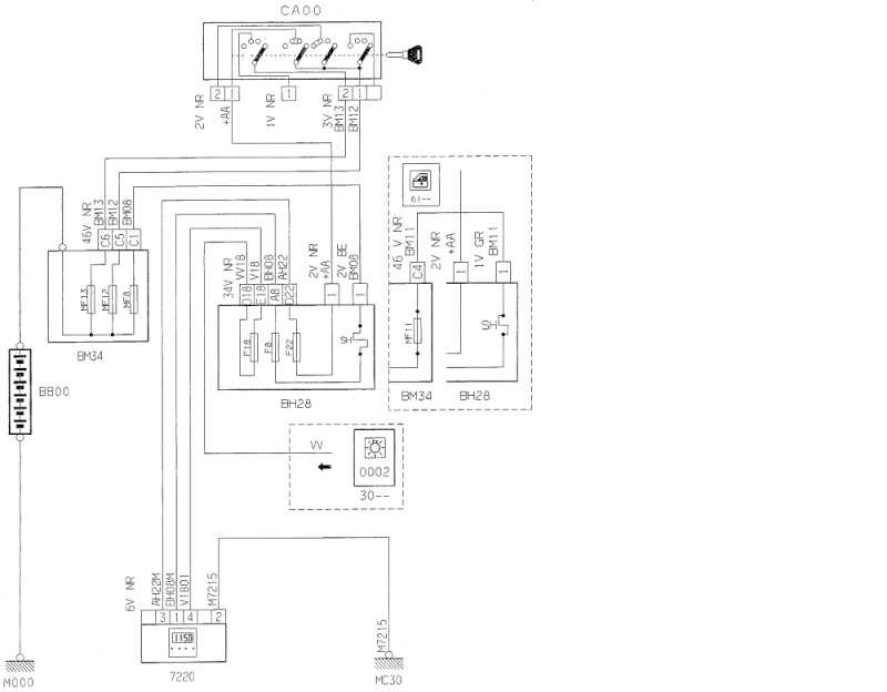 peugeot 206 1 4 ess an 2001 r initialisation date et heure afficheur r solu. Black Bedroom Furniture Sets. Home Design Ideas