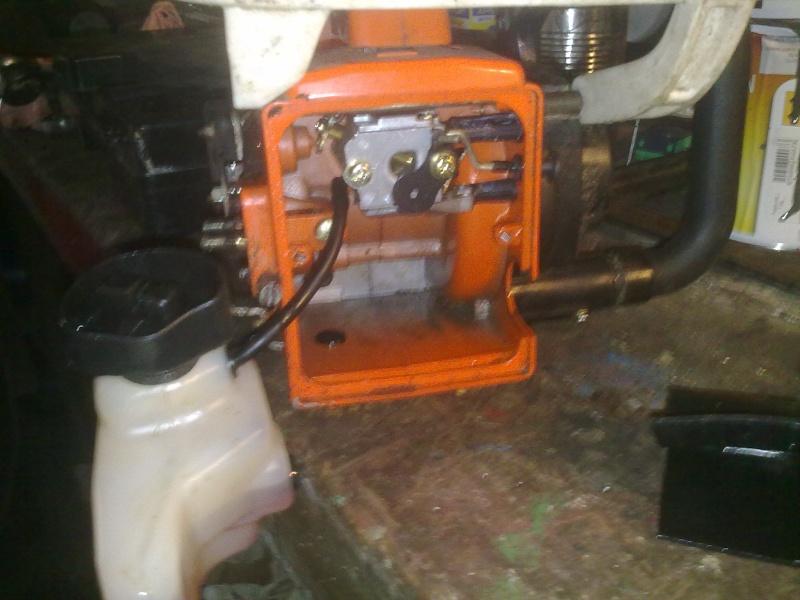 Probl me tron onneuse echo - Reglage carburateur tronconneuse husqvarna ...