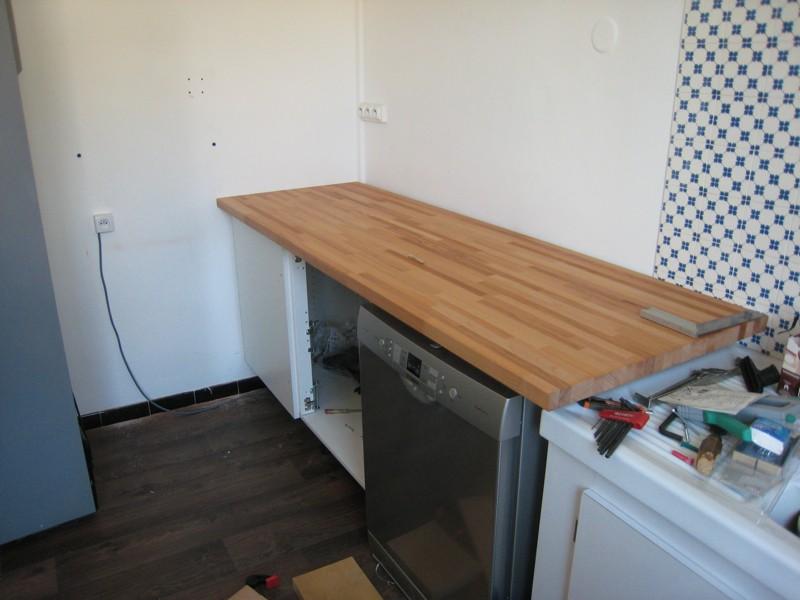 Plans de travail de cuisine - Comment poser un plan de travail de cuisine ...