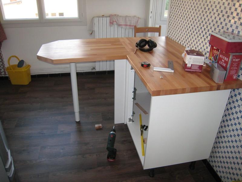 Plans de travail de cuisine for Petit meuble de cuisine avec plan de travail