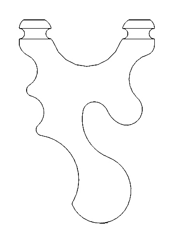 Ergo slingshot template