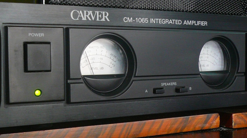 Carver Cm 1065 Amplifier Used Sold