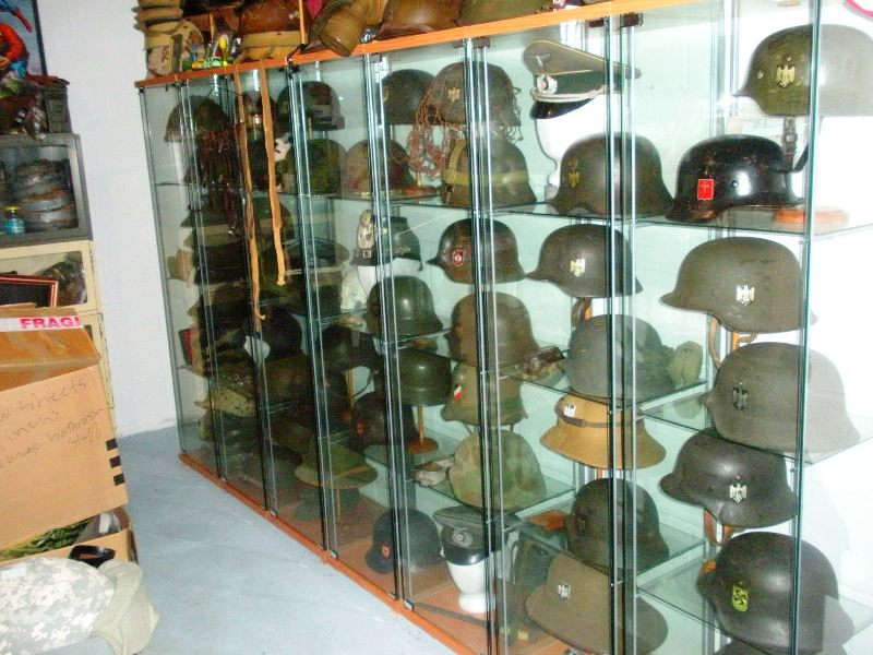 How to display hats and helmets