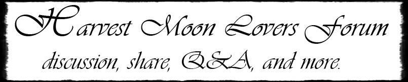 Harvest Moon Lovers